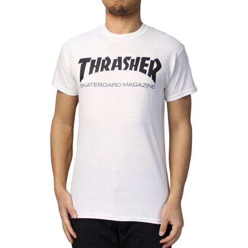 76e205d6c87 쓰레셔(THRASHER) Thrasher Skate Mag T-Shirts (화이트) 트레셔 반팔 ...