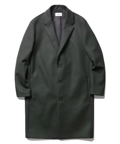 68896d59f6c 인사일런스(INSILENCE) 17FW Solist Oversize Cashmere Coat Dark Green ...