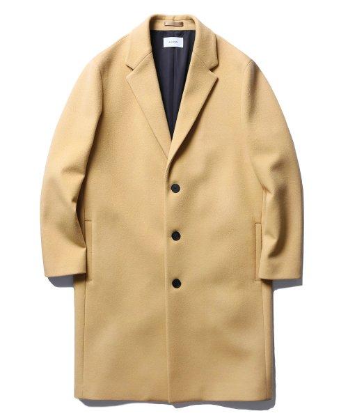 d899a96dcff 인사일런스(INSILENCE) 17FW Solist Oversize Cashmere Coat Beige ...