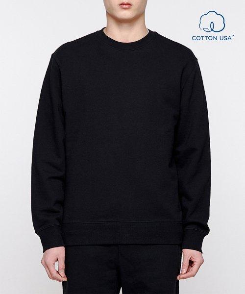 스웨트 셔츠 [블랙]