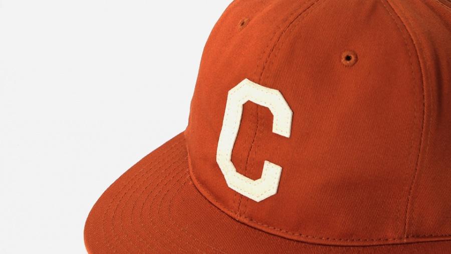 커버낫(COVERNAT) TWILL C LOGO B.B CAP ORANGE