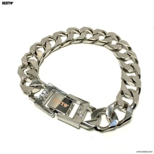 섹스토(SEXTO) [변색X]M-5 chain bracelet(silver)