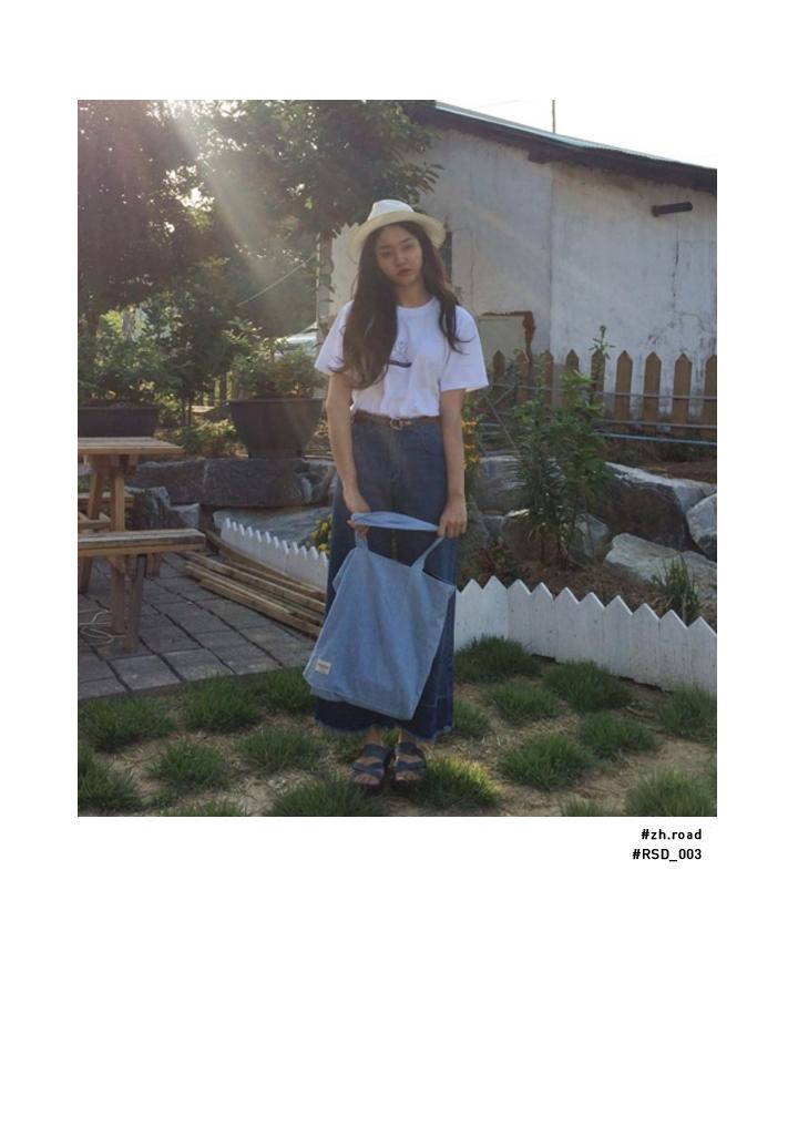루틴 프로젝트(ROUTINE PROJECT) TREASURE BAG [FROM. JEAN] RSD_005