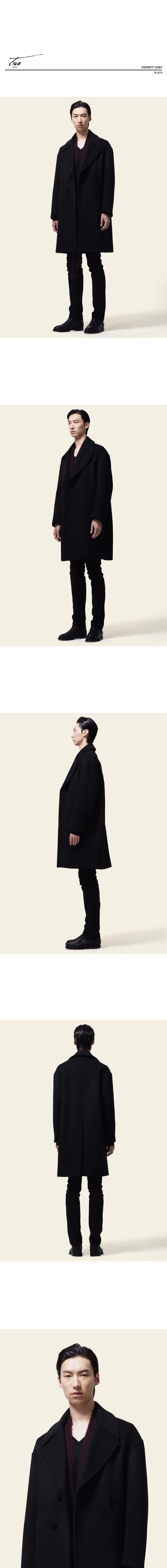 트와(TRWA) OVERFIT COAT(BLACK)