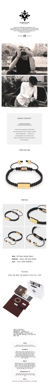 레어썸(RARESOME) RS Strap Golden Black