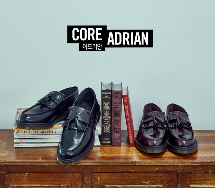 닥터마틴(DR.MARTENS) 아드리안 스무스 블랙 ADRIAN 14573001