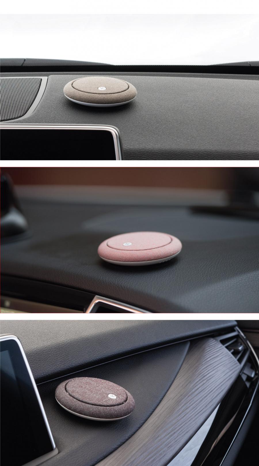 비스틱(VISTIC) 비스틱/차량용 방향제/대시보드타입/핑크/자몽