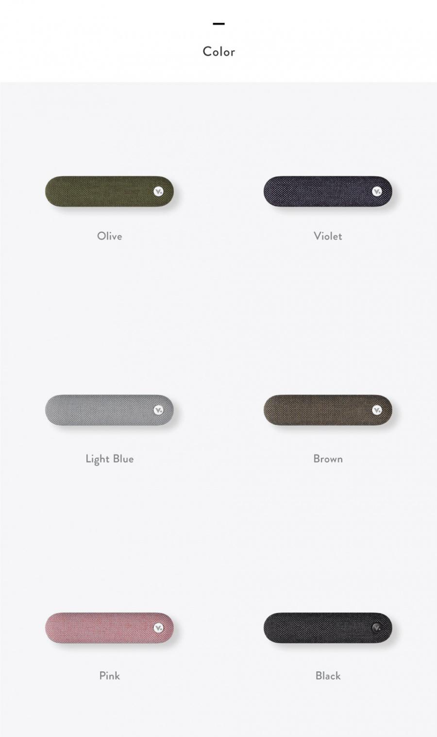 비스틱(VISTIC) 비스틱/차량용 방향제/통풍구타입/블랙/머스크