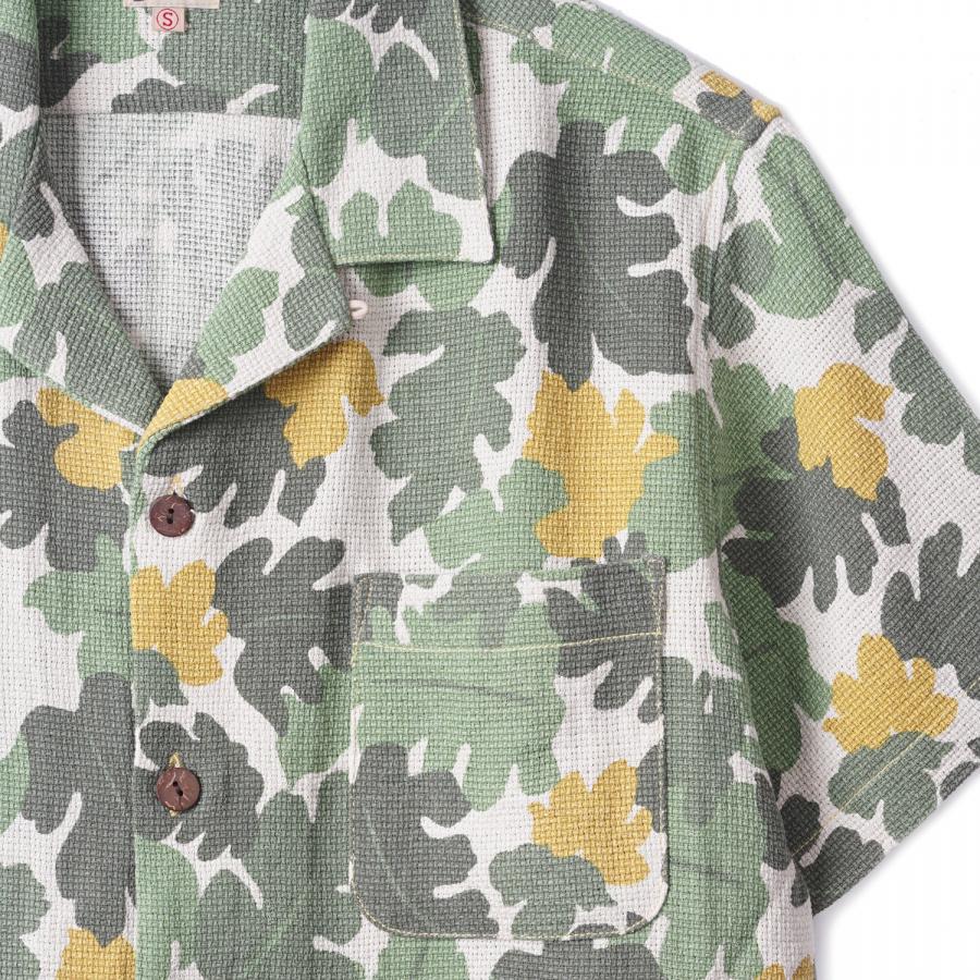 구즈베리레이(GOOSEBERRYLAY) 구즈베리레이 비치 키트 셔츠 오프화이트 카모