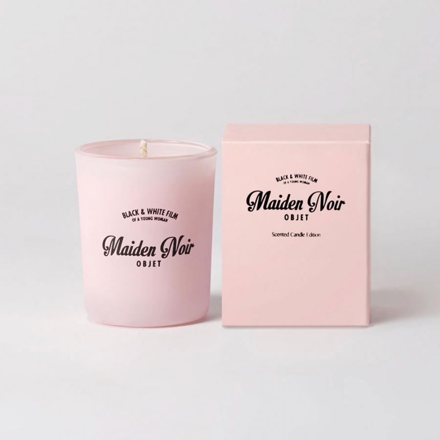 메이든느와르(MAIDEN NOIR) 메이든느와르 핑크 캔들 S (80g)