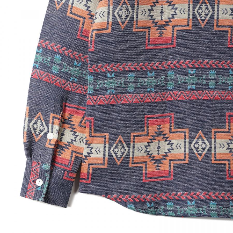구즈베리레이(GOOSEBERRYLAY) 구즈베리레이 나바호 드와이트 렌치 셔츠 네이비