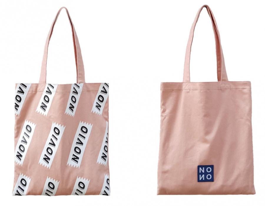 노비오(NOVIO) 2nd 에코백 핑크