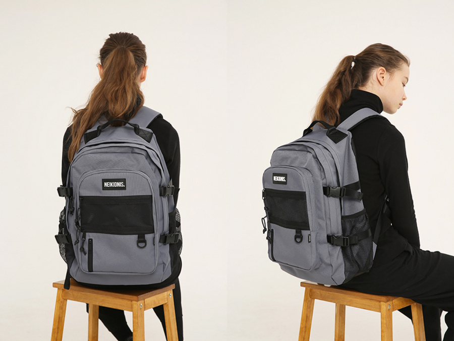 네이키드니스(NEIKIDNIS) ABSOLUTE BACKPACK / CHARCOAL