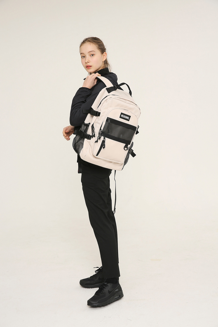 네이키드니스(NEIKIDNIS) ABSOLUTE BACKPACK /  LIGHT BEIGE