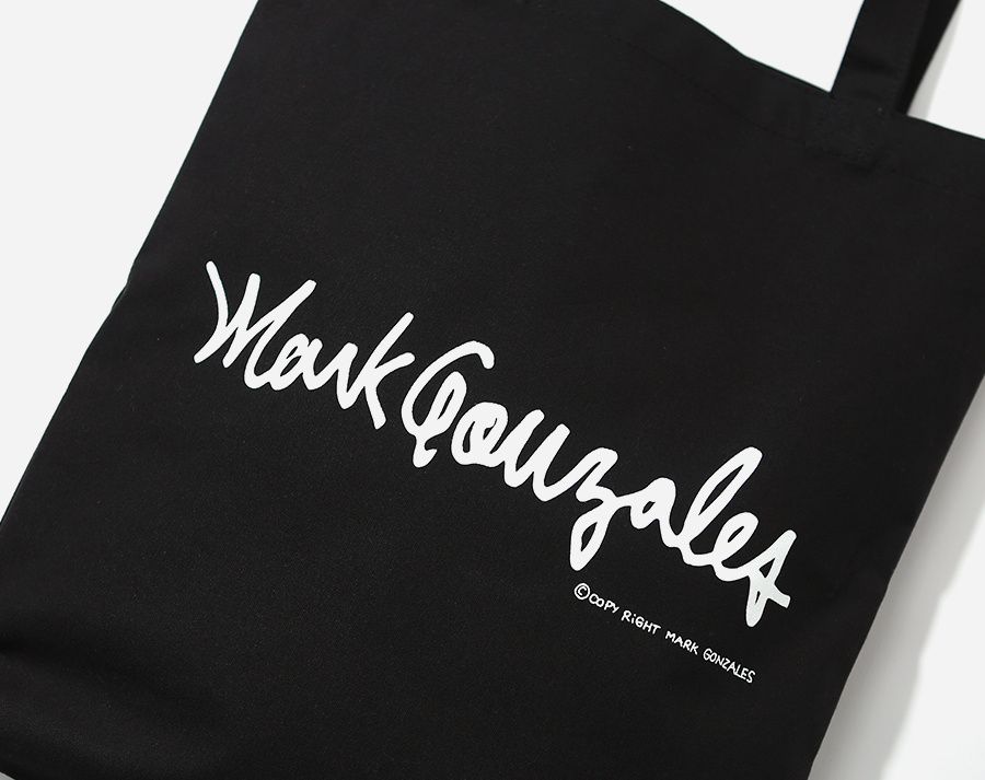 마크 곤잘레스(MARK GONZALES) M/G ECO BAG BLACK