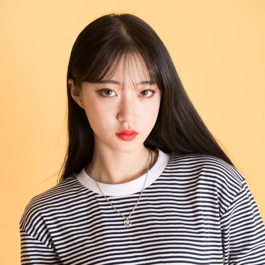 씨앤립(SEANLIP) 하트피스 목걸이