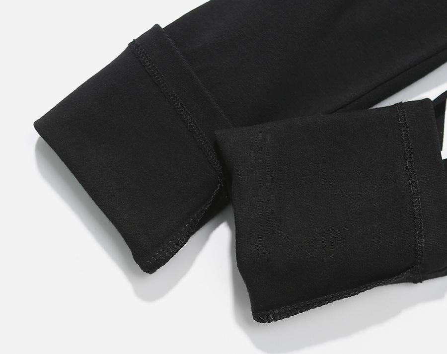 커버낫(COVERNAT) AUTHENTIC LOGO LEGGINGS BLACK