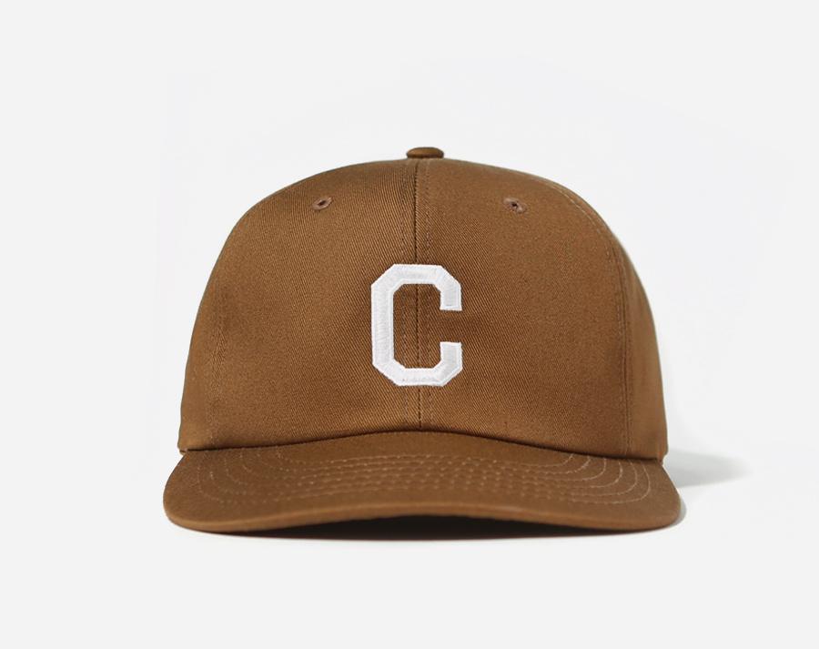 커버낫(COVERNAT) EMBROIDERY C LOGO B.B CAP BROWN