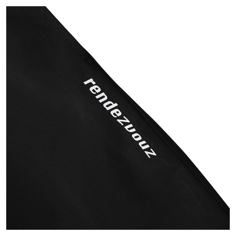 알디브이제트(RDVZ) 다이애그널 2.0 윈드팬츠 블랙