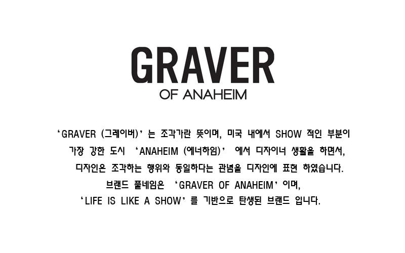 그레이버(GRAVER) [남녀공용]레오파드 프린트 자켓_블랙