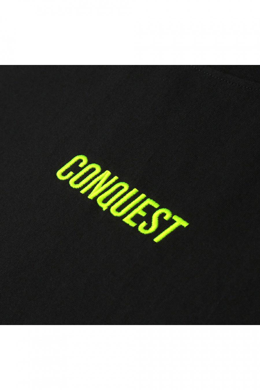 알디브이제트(RDVZ) 컨퀘스트 티셔츠 블랙