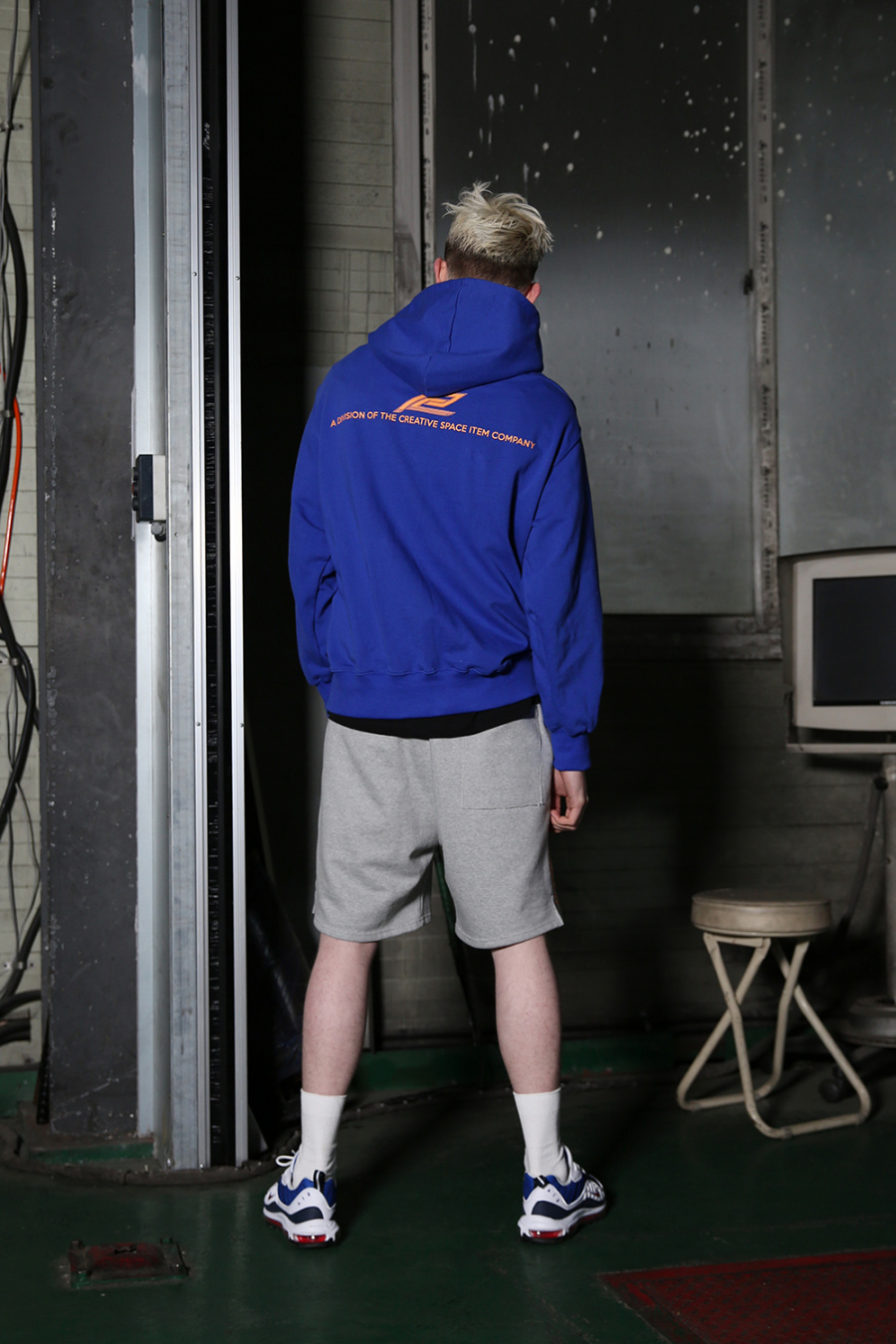 알디브이제트(RDVZ) 컨퀘스트 스웻 숏 팬츠 그레이