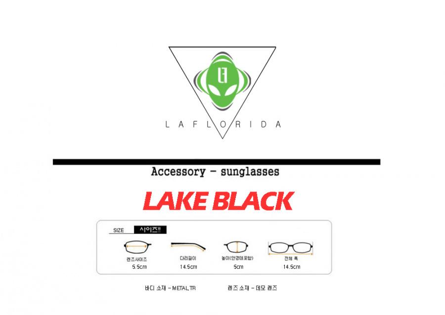 라플로리다(LAFLORIDA) [라플로리다] 레이크 블랙 골드 glasses