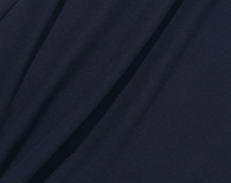 프룻오브더룸(FRUIT OF THE LOOM) [Asian fit] WAPPEN POLO T-SHIRTS NAVY