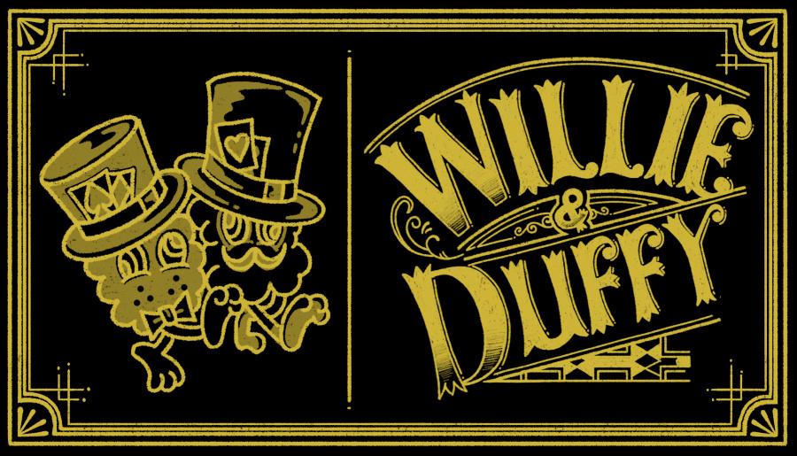 윌리앤더피(WILLIE and DUFFY) Custom Stamp Ring (Twist ver.)