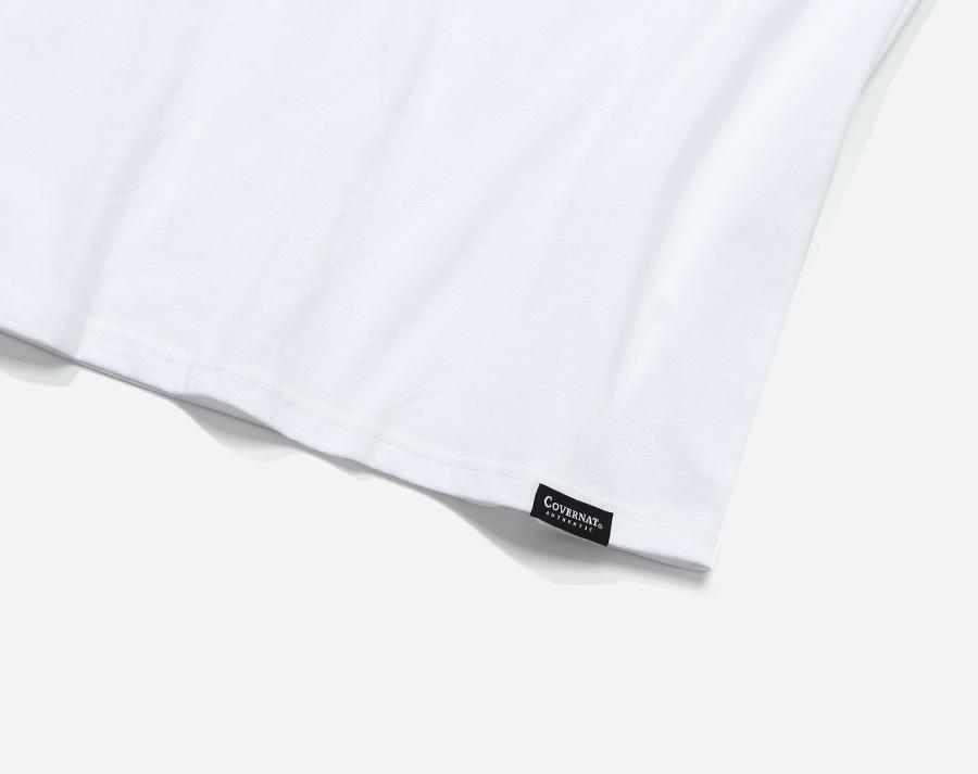 커버낫(COVERNAT) S/S ARCH LOGO SLEEVELESS TOP WHITE / GREEN