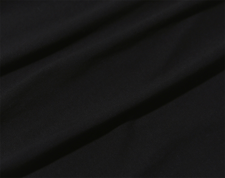 프룻오브더룸(FRUIT OF THE LOOM) [Asian fit] 210g 3PACK T-SHIRTS BLACK