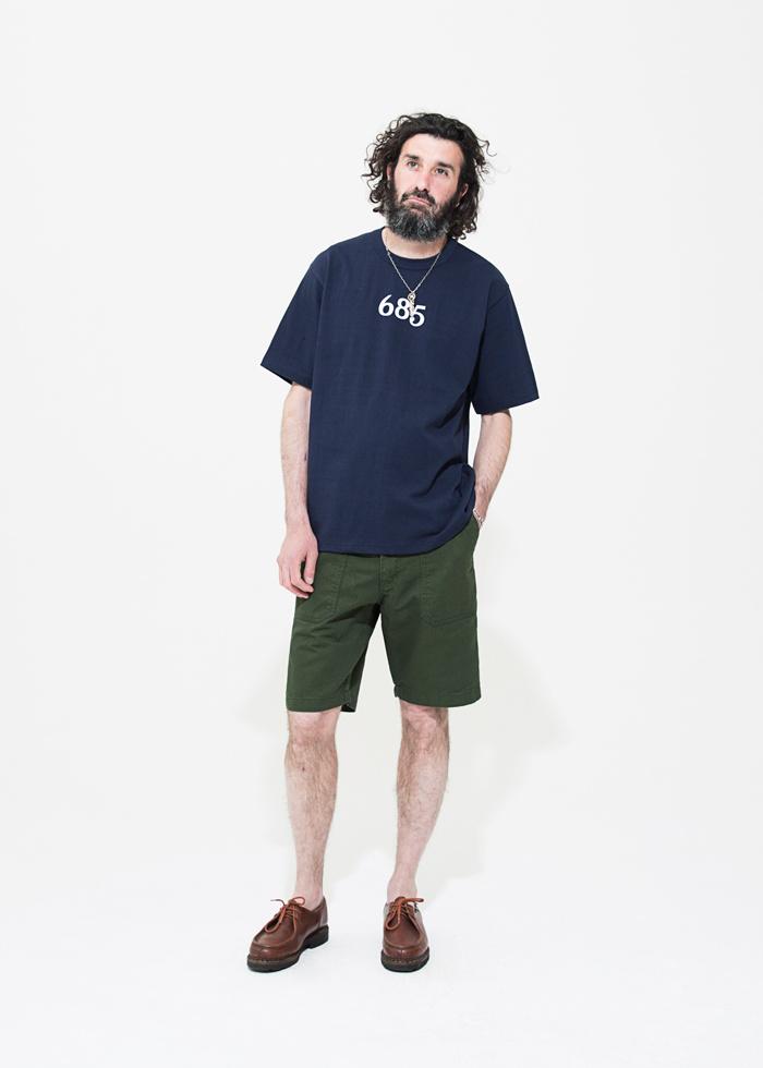 유니폼브릿지(UNIFORM BRIDGE) 19ss cotton fatigue shorts black