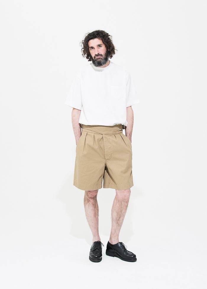 유니폼브릿지(UNIFORM BRIDGE) 18ss gurkha shorts black