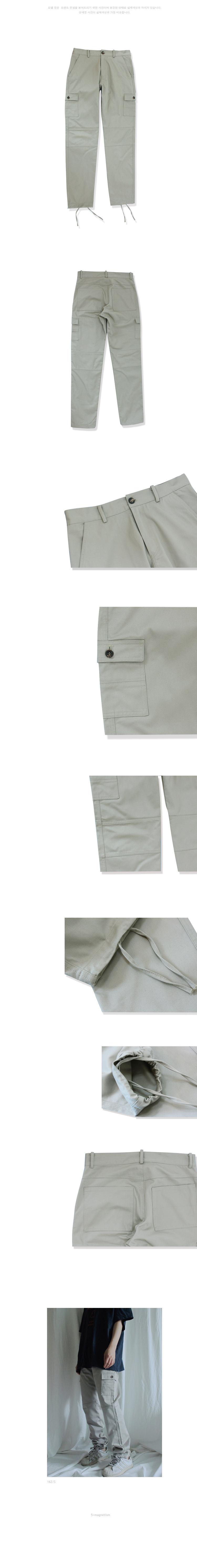 누아네임(NUANAME) 5P18 (regular tapered fit jogger pants b.yg)