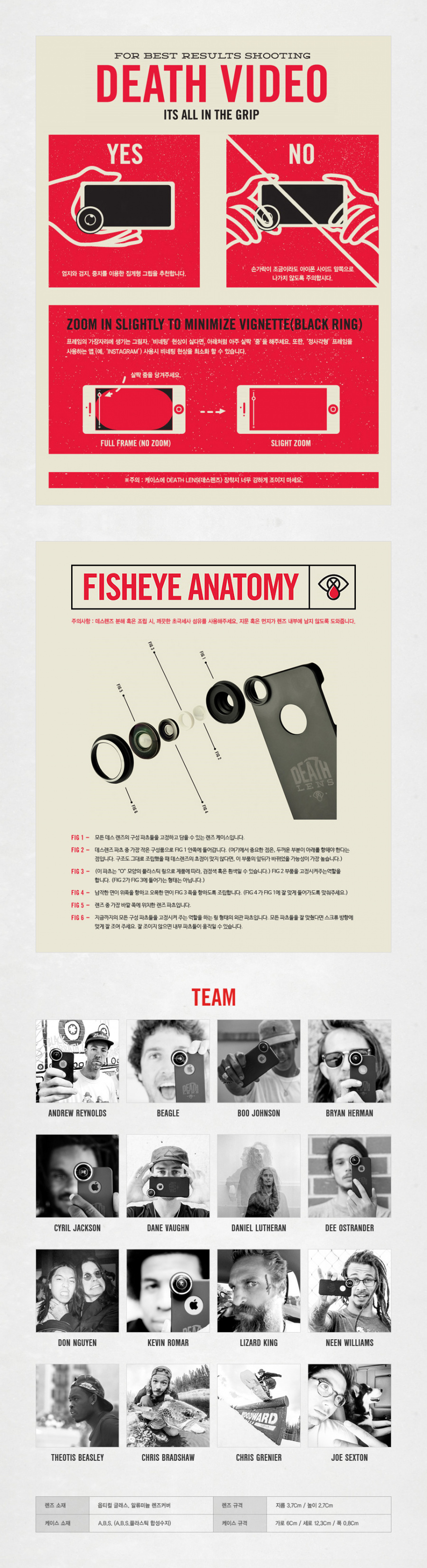 데스렌즈(DEATH LENS) PRO KIT (IPHONE 8 COMPATIBLE)