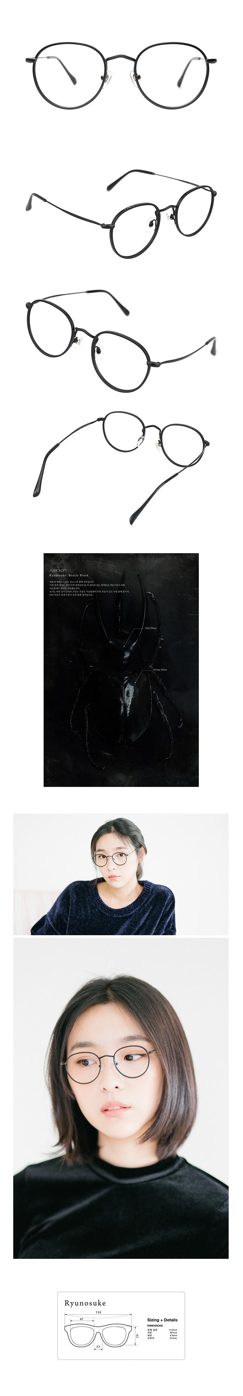 애쉬크로프트(ASHCROFT) Ryunosuke - 01 (Beetle Black)