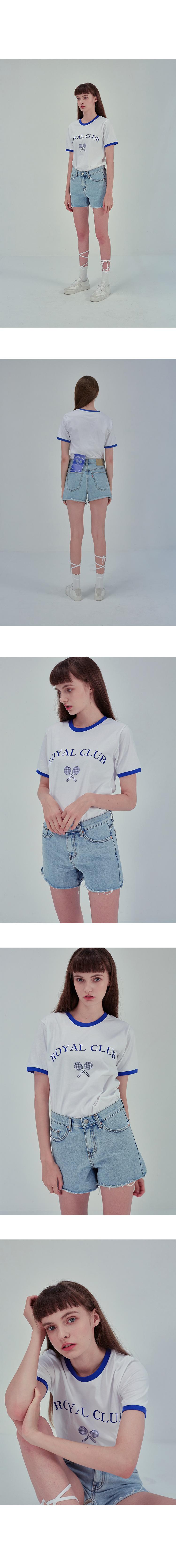 노이커먼(NOYCOMMON) ROYAL CLUB TEE YE