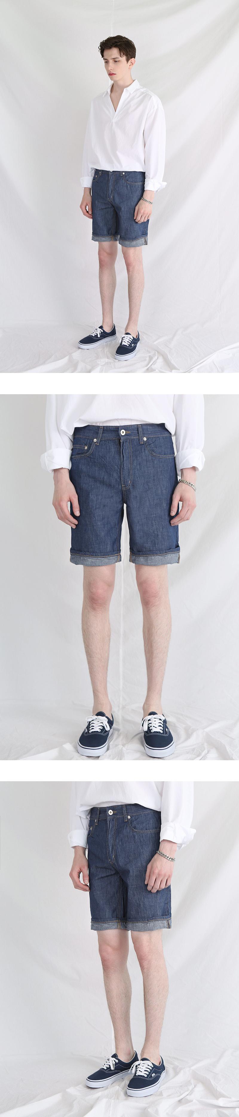 모디파이드(MODIFIED) M#0648 1/2 8oz denim pants