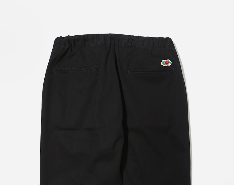 프룻오브더룸(FRUIT OF THE LOOM) EASY PANTS BLACK
