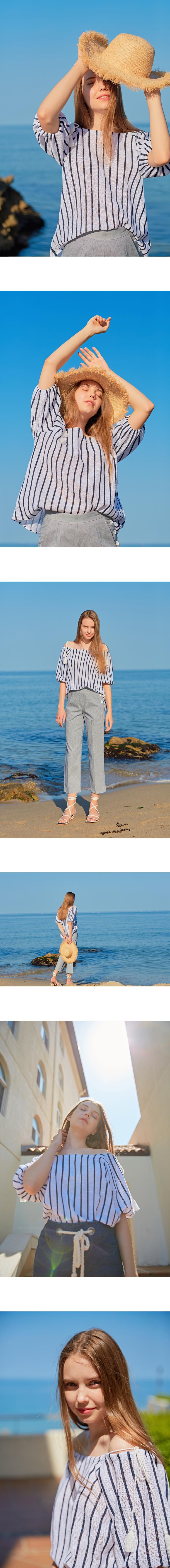 몬츠(MONTS) monts720 raglan stripe blouse