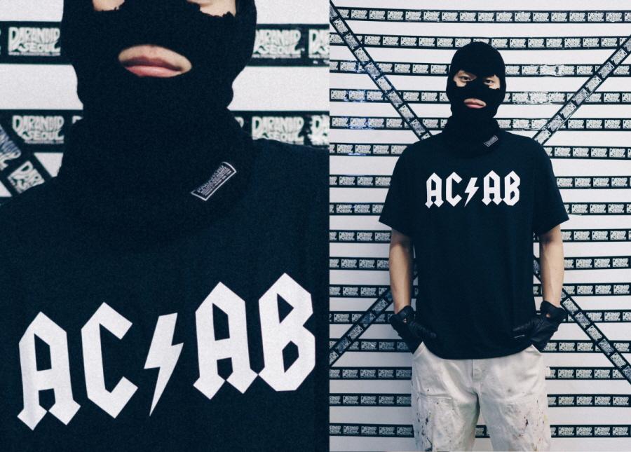 파라노이드(PARANOID) ACAB 티셔츠
