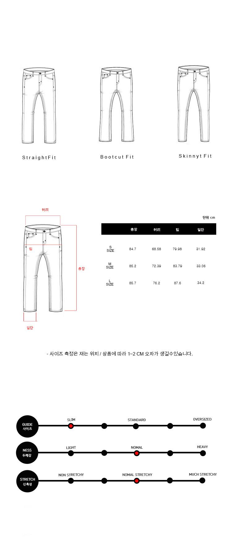밀리언코르(MILLIONCOR) [CONA 9015] Light Brushed Jean