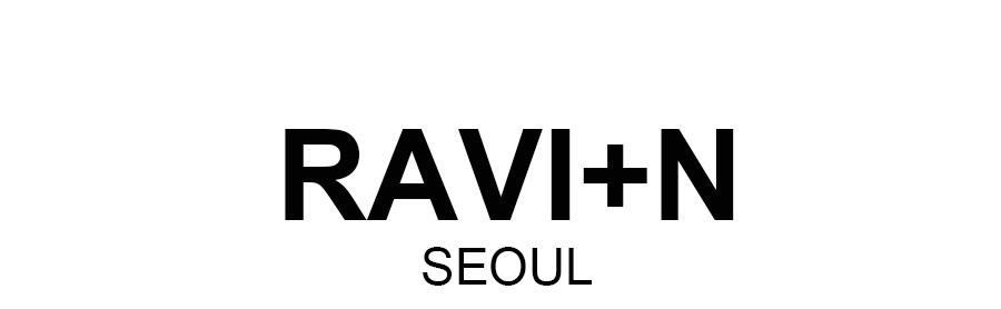 라빈(RAVIIN) 꽃 우라기리셔츠(2칼라)