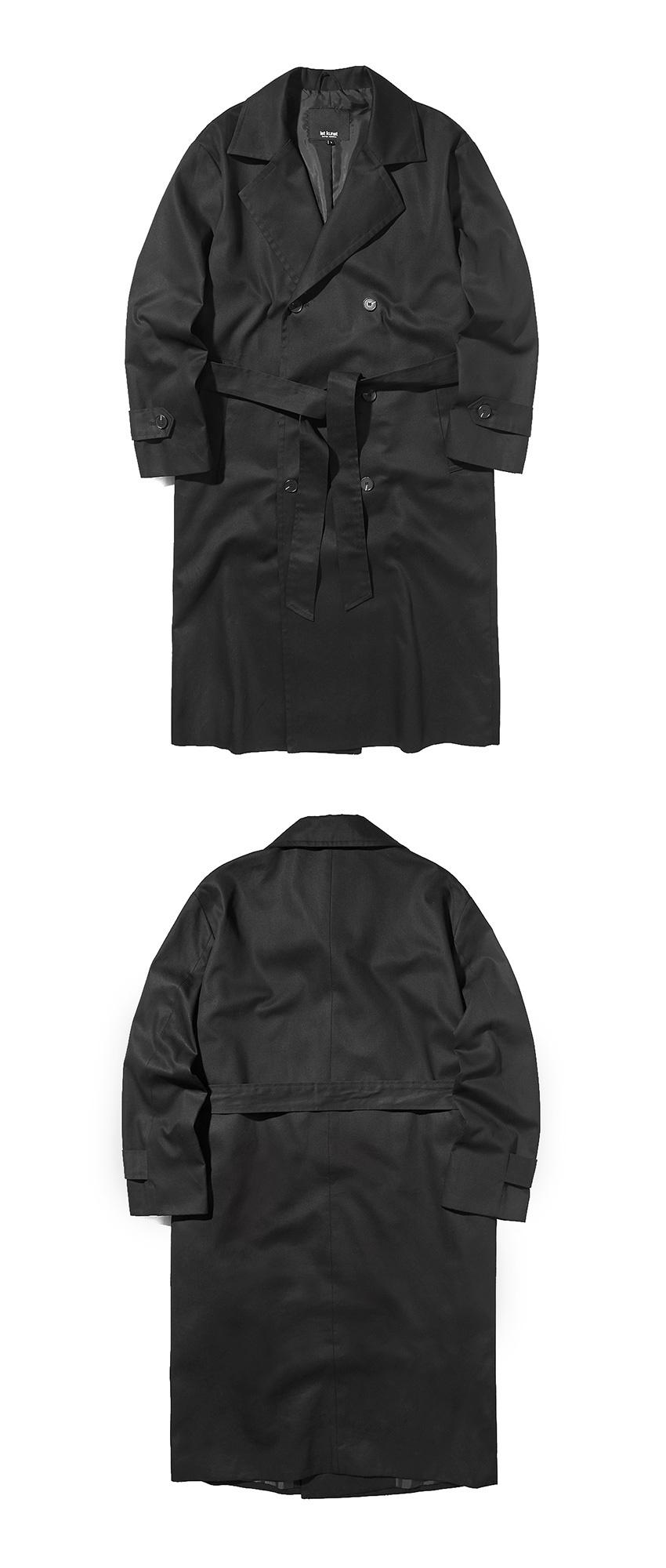 이스트쿤스트(IST KUNST) TRENCH COAT [블랙] IK1IFMC800A