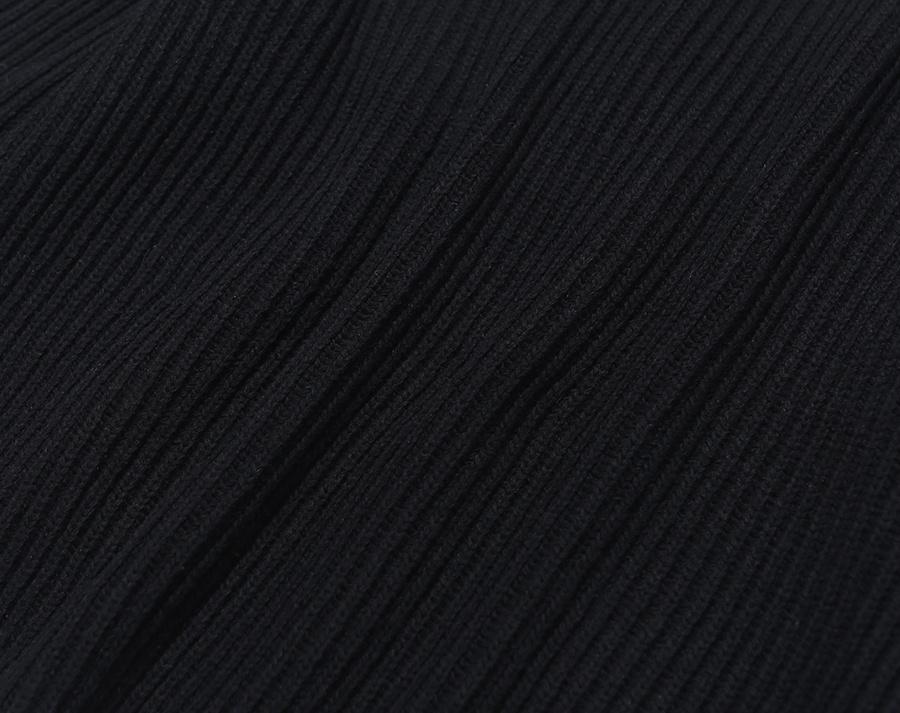 커버낫(COVERNAT) OVERSIZED MOCK NECK KNIT BLACK