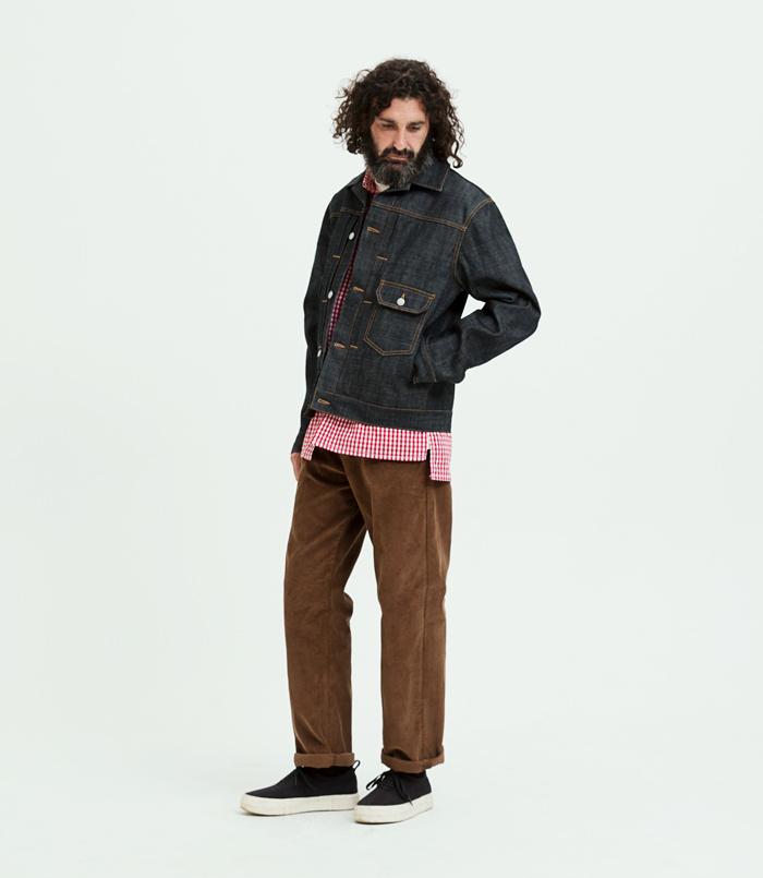 유니폼브릿지(UNIFORM BRIDGE) 18fw corduroy pants brown