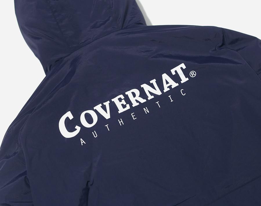 커버낫(COVERNAT) REVERSIBLE FLEECE WARM UP JACKET IV/NA