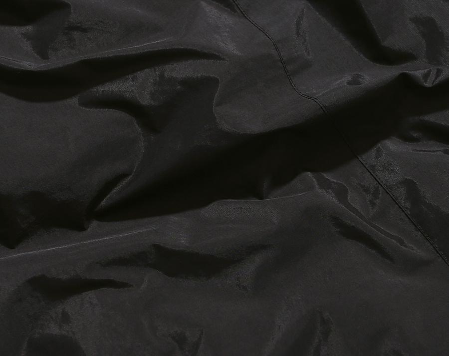 커버낫(COVERNAT) REVERSIBLE FLEECE WARM UP JACKET BLACK