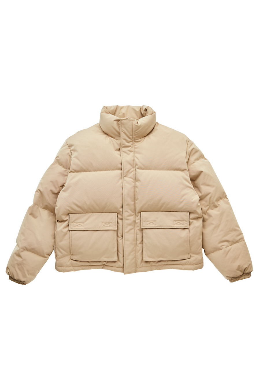 유즈드퓨처(USED FUTURE) SHORT PUFFER_BEIGE