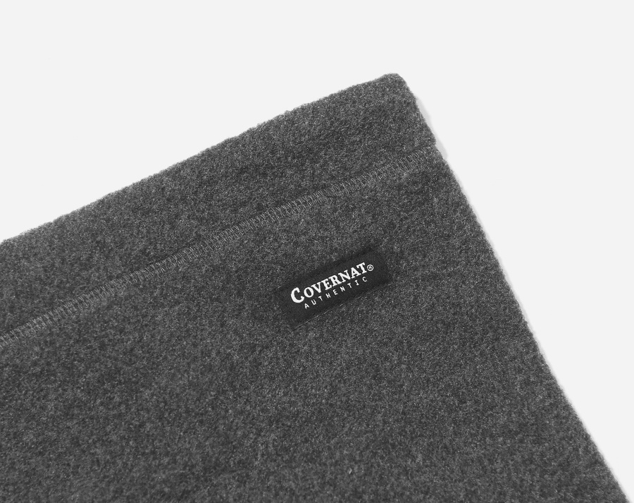 커버낫(COVERNAT) FLEECE NECK WARMER GRAY